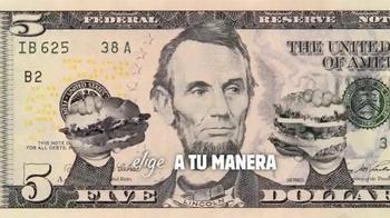 Burger King Extra Long BBQ Cheeseburger TV Spot, '2 por 5: Mejor' [Spanish] - Thumbnail 7