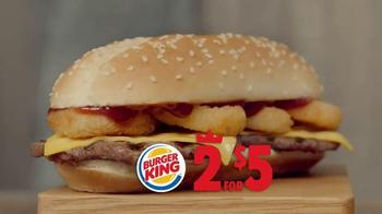 Burger King Extra Long BBQ Cheeseburger TV Spot, '2 por 5: Mejor' [Spanish] - Thumbnail 5