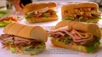 Subway Fresh Fit TV Spot, 'Ready for Costume Season?' - Thumbnail 9