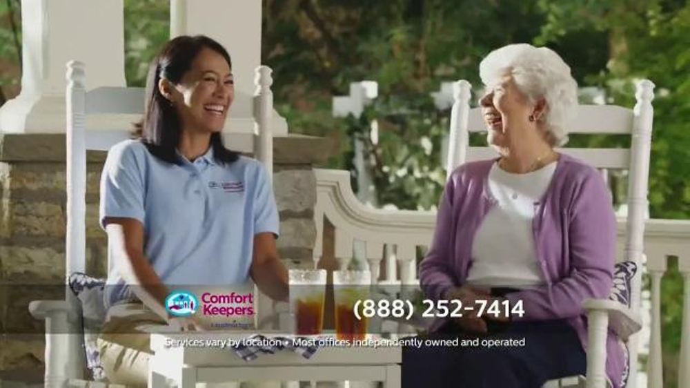 Comfort Keepers TV Commercial, 'A Simple Call'