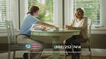 Comfort Keepers TV Spot, 'A Simple Call' - Thumbnail 4