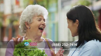 Comfort Keepers TV Spot, 'A Simple Call' - Thumbnail 5