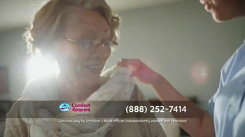 Comfort Keepers TV Spot, 'A Simple Call' - Thumbnail 6
