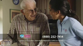 Comfort Keepers TV Spot, 'A Simple Call' - Thumbnail 7