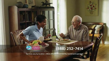 Comfort Keepers TV Spot, 'A Simple Call' - Thumbnail 8