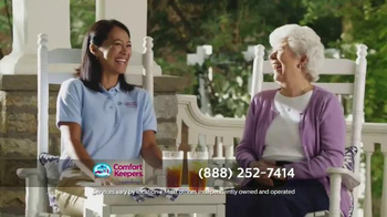 Comfort Keepers TV Spot, 'A Simple Call' - Thumbnail 9
