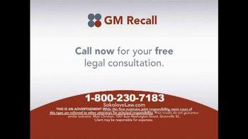 Sokolove Law TV Spot, 'GM Recall'