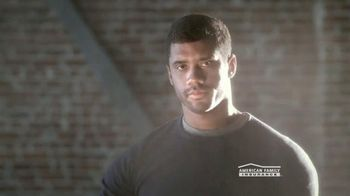 American Family Insurance TV Spot, 'Lifetime Protection' Ft. Russell Wilson - 209 commercial airings