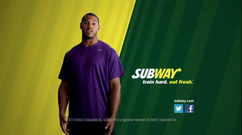 Subway TV Spot, 'Training the Rookie' Feat. Robert Griffin III, Justin Tuck - Thumbnail 6