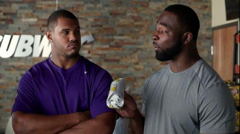 Subway TV Spot, 'Training the Rookie' Feat. Robert Griffin III, Justin Tuck - Thumbnail 2