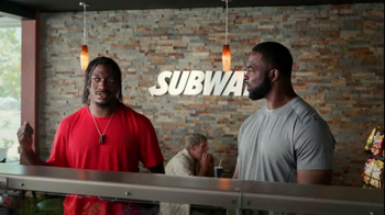Subway TV Spot, 'Training the Rookie' Feat. Robert Griffin III, Justin Tuck - Thumbnail 3