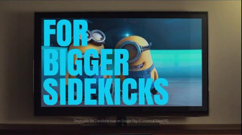Google Chromecast TV Spot, 'For Bigger Sidekicks'