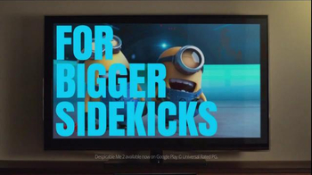 Google Chromecast TV Spot, 'For Bigger Sidekicks' - Thumbnail 5