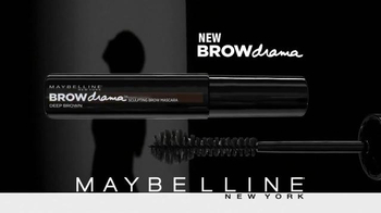 Maybelline New York Brow Drama TV Spot, 'Brows That Wow' - Thumbnail 9