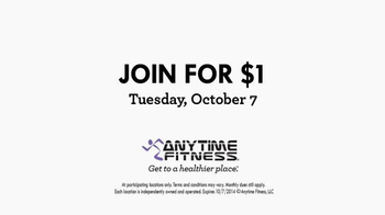 Anytime Fitness Join for $1 TV Spot, 'Get To A Healthier Place' - Thumbnail 8