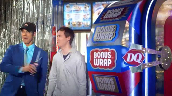 Dairy Queen Chicken Wrap $5 Buck Lunch TV Spot, 'Bonus Wrap' - Thumbnail 5