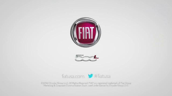 2014 FIAT 500L TV Spot, 'You Were Meant for Bigger Things' - Thumbnail 8