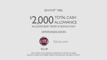 2014 FIAT 500L TV Spot, 'You Were Meant for Bigger Things' - Thumbnail 9