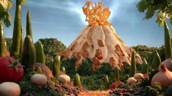 Moe's Southwest Grill Chili Con Queso Burrito TV Spot, 'Volcano'
