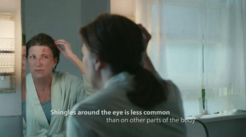 Merck TV Spot, 'Day #6 with Shingles'