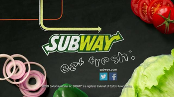 Subway Meatball Marinara TV Spot, '$5 Famous Footlongs' - Thumbnail 10
