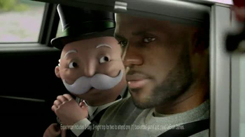 McDonald's TV Spot, 'Monopoly: He's Back!' Featuring LeBron James