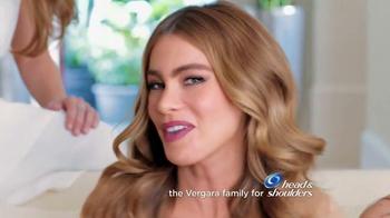 Head & Shoulders TV Spot, 'Sofia Vergara & Family get in Each Other's Hair' - Thumbnail 1