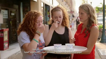 Yoplait Blueberry Greek Yogurt TV Spot, 'Taste-Off Takes on St. Louis' - Thumbnail 4