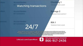 LifeLock TV Spot, 'New' - Thumbnail 3