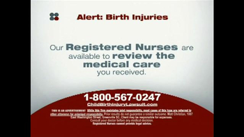Sokolove Law TV Spot, 'Alert: Birth Injuries' - Thumbnail 4