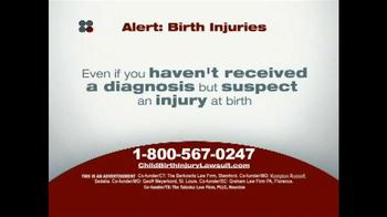Sokolove Law TV Spot, 'Alert: Birth Injuries' - Thumbnail 5