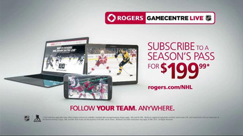 Rogers NHL GameCentre Live TV Spot, 'New Game Experience' - Thumbnail 7