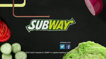 Subway Black Forest Ham and Cheese TV Spot, 'October Six-Inch Select' - Thumbnail 10