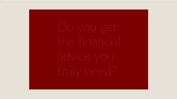 Edelman Financial TV Spot, 'Advice You Need' - Thumbnail 1