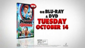 Mr. Peabody & Sherman Blu-ray & DVD TV Spot