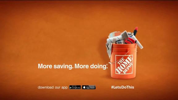 The Home Depot TV Spot, 'Worry-Proof the Walls' - Thumbnail 8