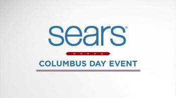 Sears Columbus Day Event TV Spot, 'Stock Up On Savings' - Thumbnail 4