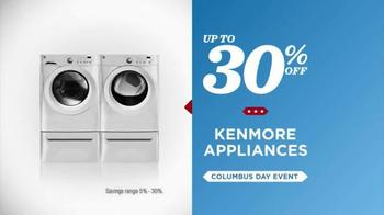 Sears Columbus Day Event TV Spot, 'Stock Up On Savings' - Thumbnail 5