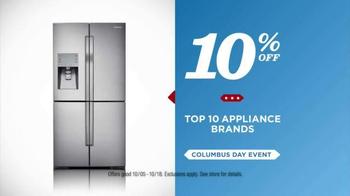 Sears Columbus Day Event TV Spot, 'Stock Up On Savings' - Thumbnail 6
