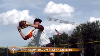 Tommie Copper TV Spot, 'Look Like a Baseball Player' - Thumbnail 6
