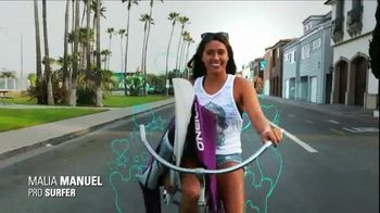 Sanuk The Yoga Sling TV Spot, 'Never Uncomfortable' Featuring Malia Manuel - Thumbnail 5