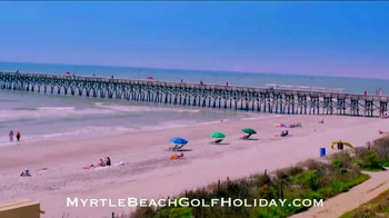 Myrtle Beach Golf Holiday TV Spot, 'How Long Has it Been?' - Thumbnail 9