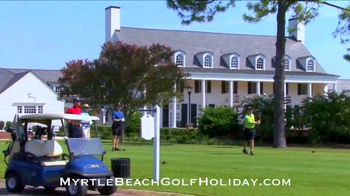 Myrtle Beach Golf Holiday TV Spot, 'How Long Has it Been?' - Thumbnail 6