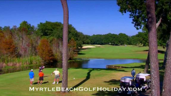 Myrtle Beach Golf Holiday TV Spot, 'How Long Has it Been?' - Thumbnail 8