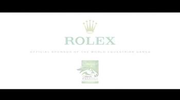 Rolex TV Spot, 'It Tells History: World Equestrian Games' - Thumbnail 10