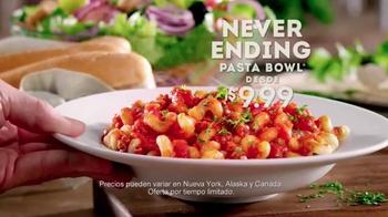 Olive Garden Never Ending Pasta Bowl TV Spot, 'De Regreso' [Spanish] - Thumbnail 9