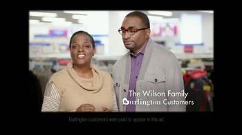 Burlington Coat Factory TV Spot, 'The Wilson Family' - Thumbnail 1