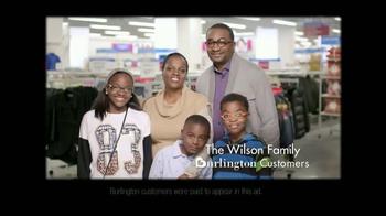 Burlington Coat Factory TV Spot, 'The Wilson Family' - Thumbnail 2