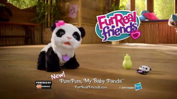 FurReal Friends TV Spot, 'PomPom Baby Panda - Thumbnail 10