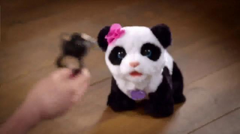 FurReal Friends TV Spot, 'PomPom Baby Panda - Thumbnail 4